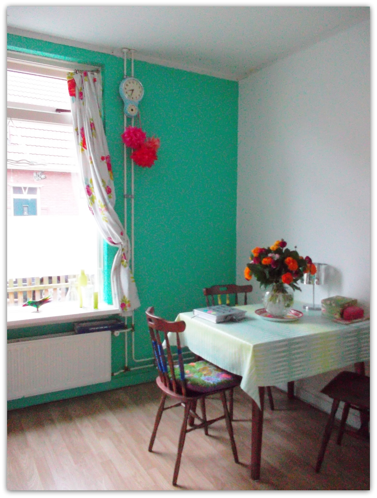 Guestroom in my new colourful house