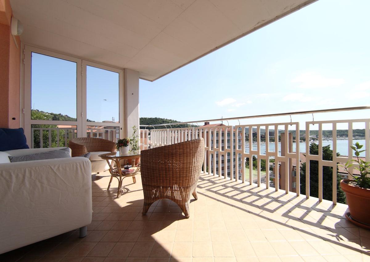 Portoroz, Luxury Apt, Sea View