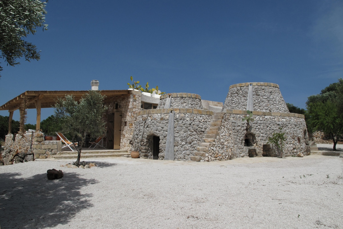 Salento villas next to the sea