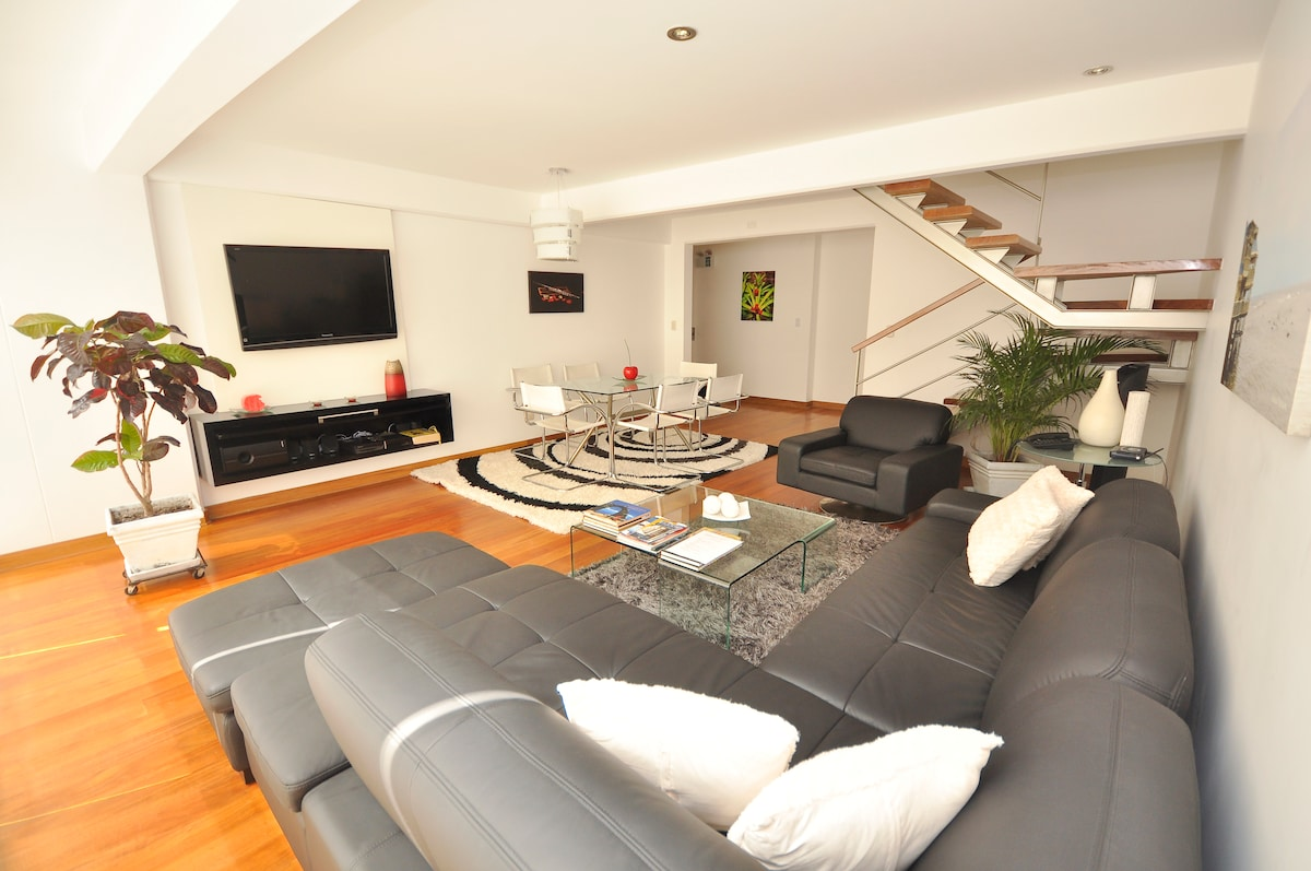 A Duplex apartment in Miraflores