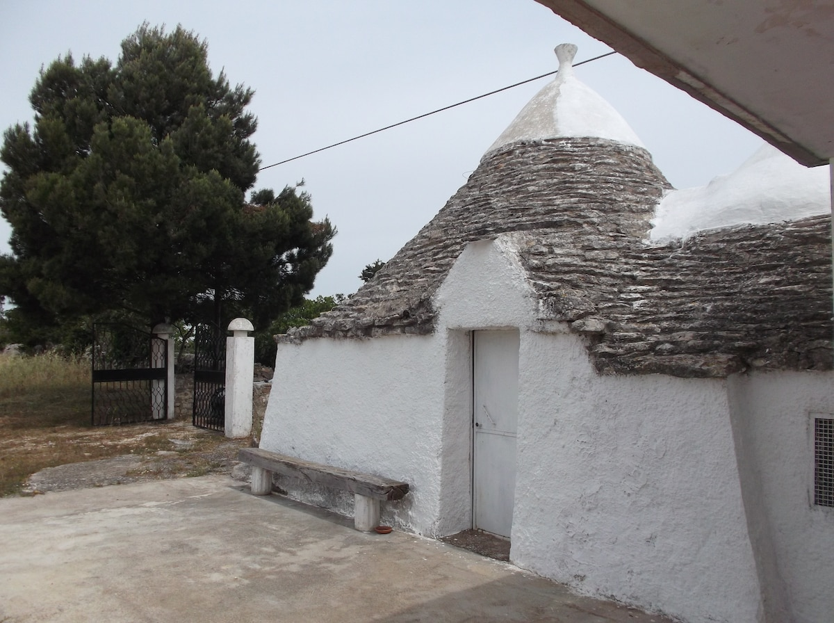 Sleeping in trulli, country Noci
