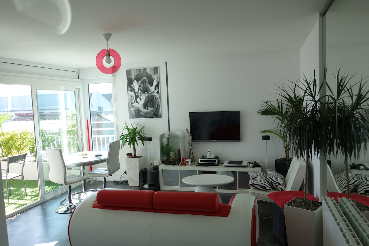 your room in the heart of Nantes