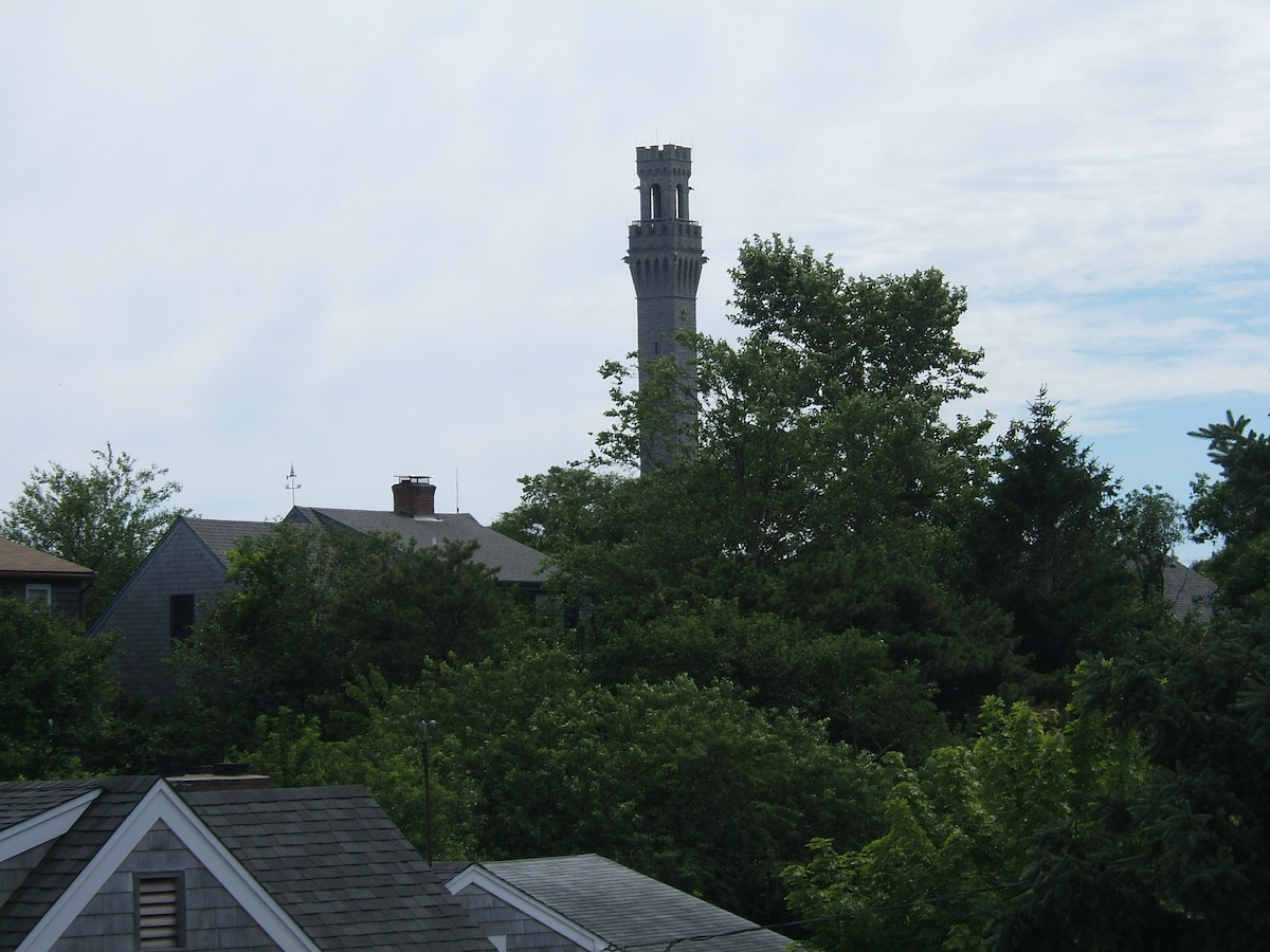 Pilgrim Monument 10 minute walk (view from roofdeck)