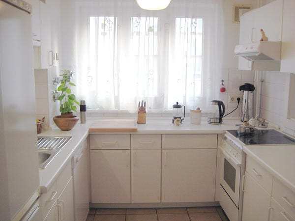 shiny kitchen with all things You need;)