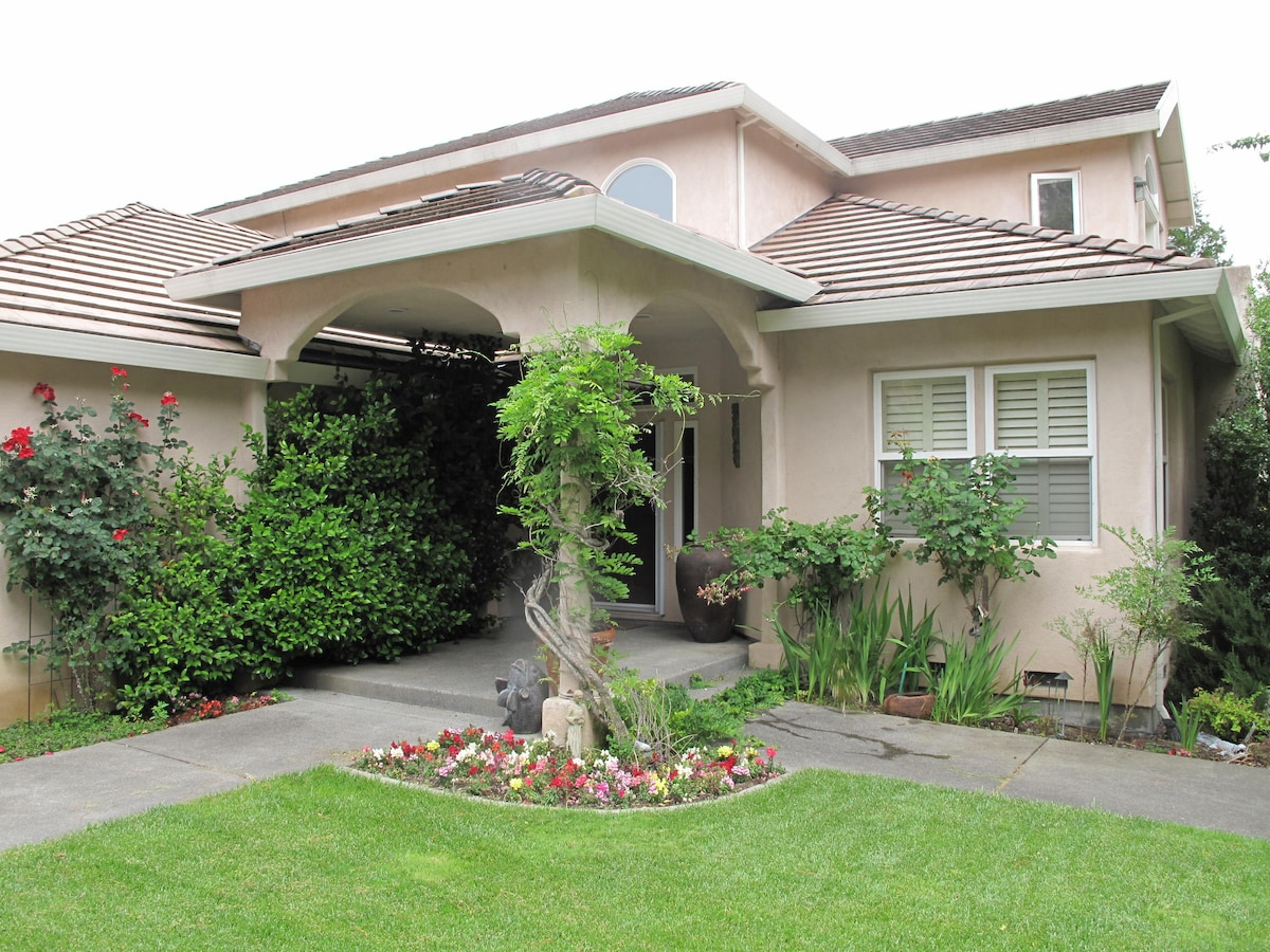 Beautiful Wine Country 2 BR Suite
