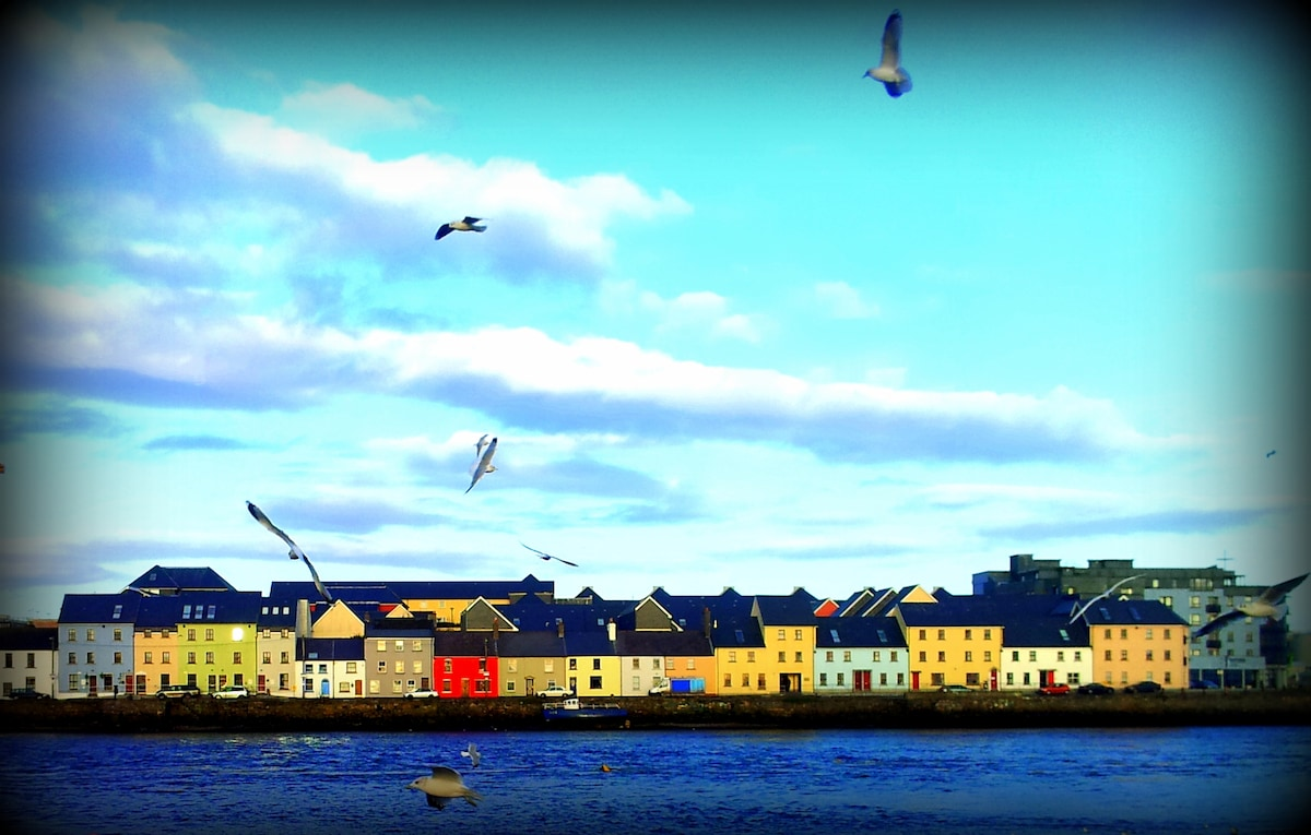Claddagh, amazing view