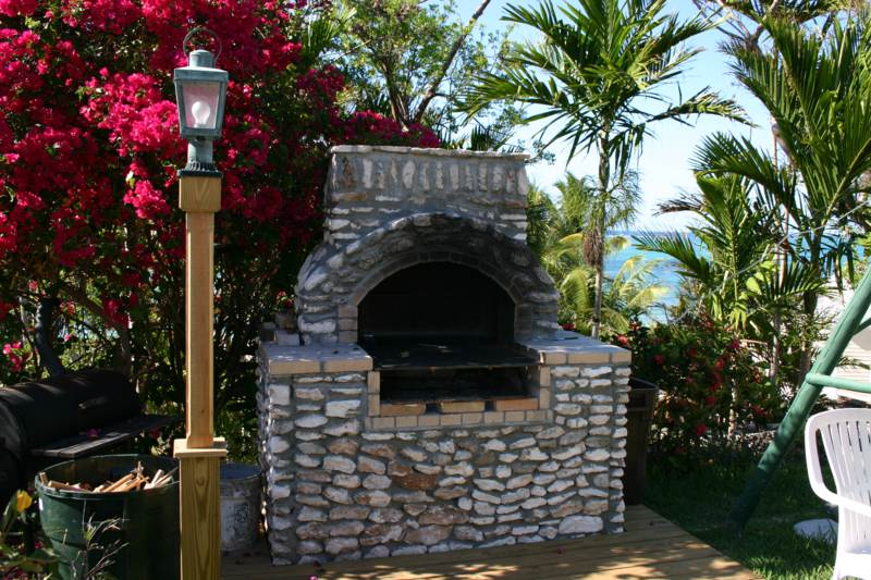 The out-door barbeque awaits for the chef that is YOU!