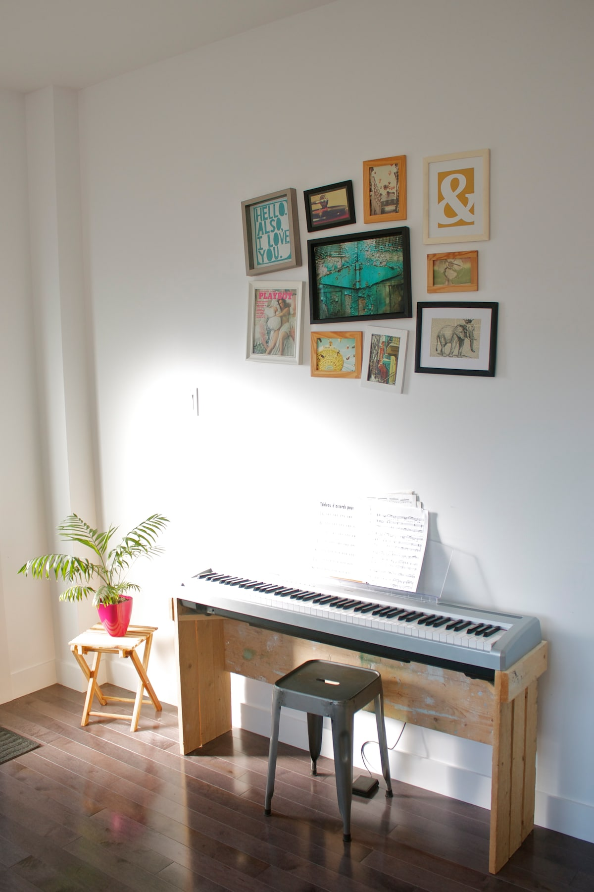 Piano at your disposal !