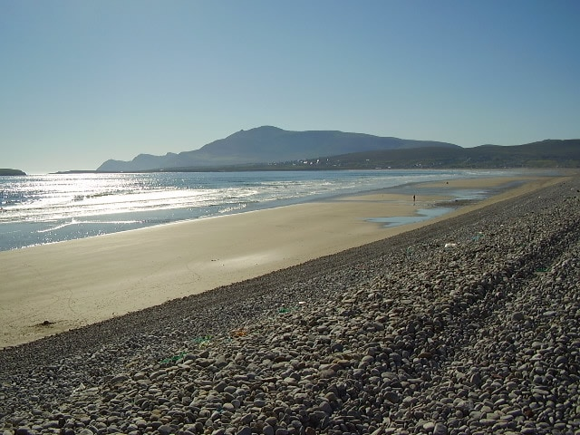 Our beach!! Just a short walk through the village ;)