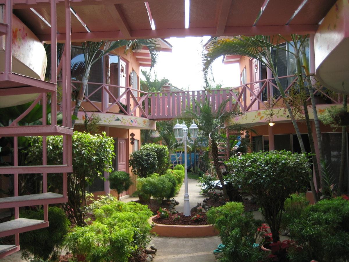 El Encanto Condominiums The Entrance to a private  Ten Unit condominium gated complex with pool