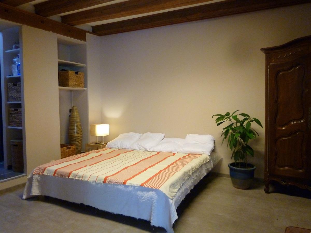chambre 2 lits jumeaux en 90 cms