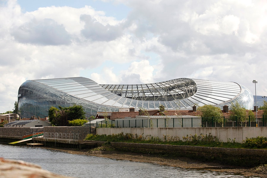 Aviva Stadium - 10 min walk from the apartment.