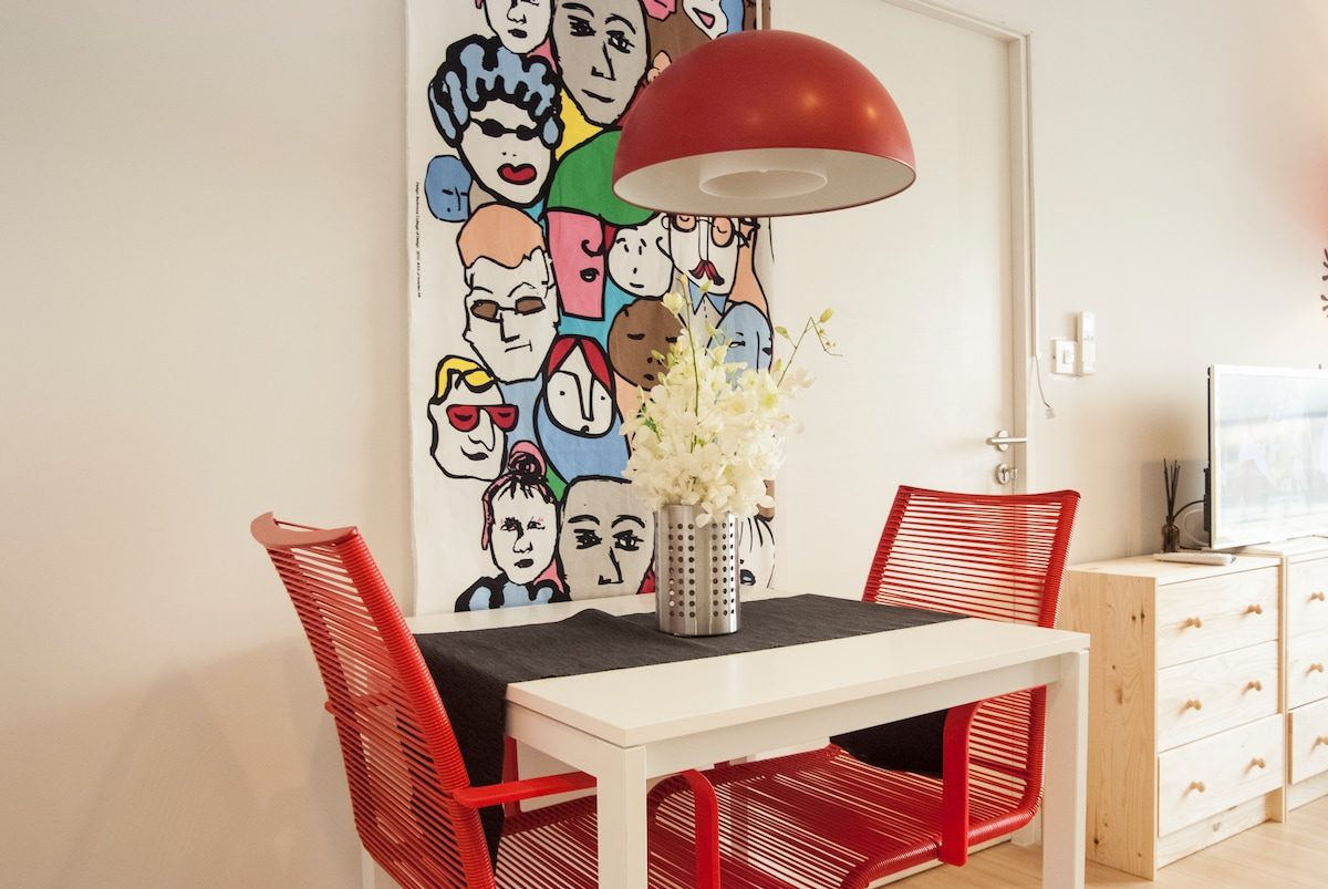a dinning table