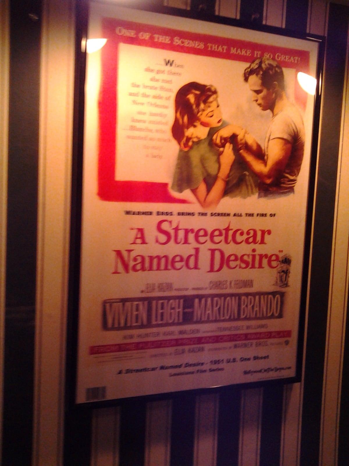 "Everyone should remember ""Streetcar Named Desire"" made in Louisiana"