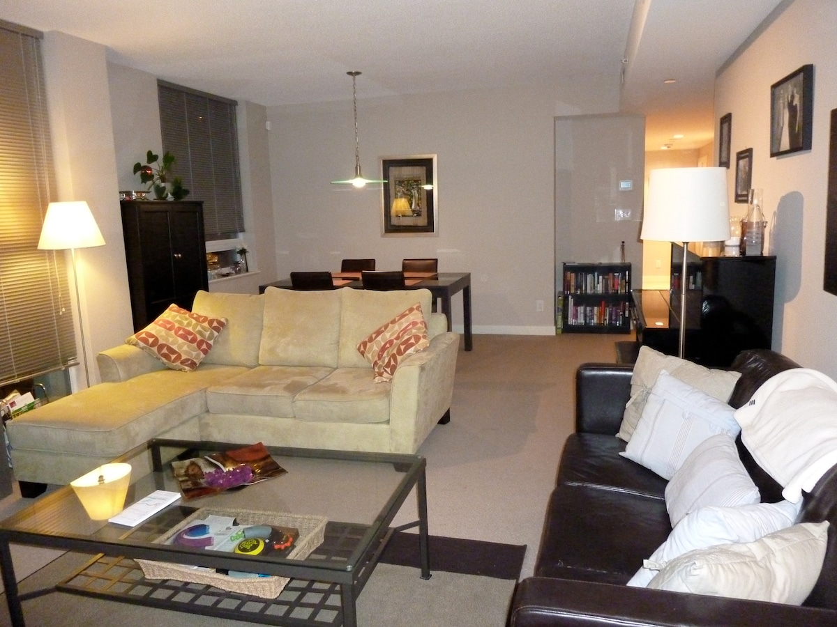 Large Lounge with 40inch flat screen TV
