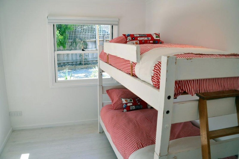 Bedroom 4 - What's more fun than a set of bunks for the kids!