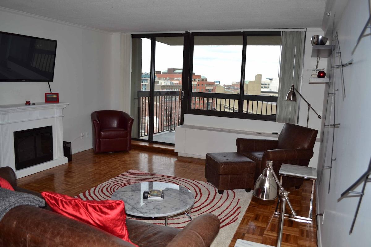 West End Luxury 1 Bed 12th Floor