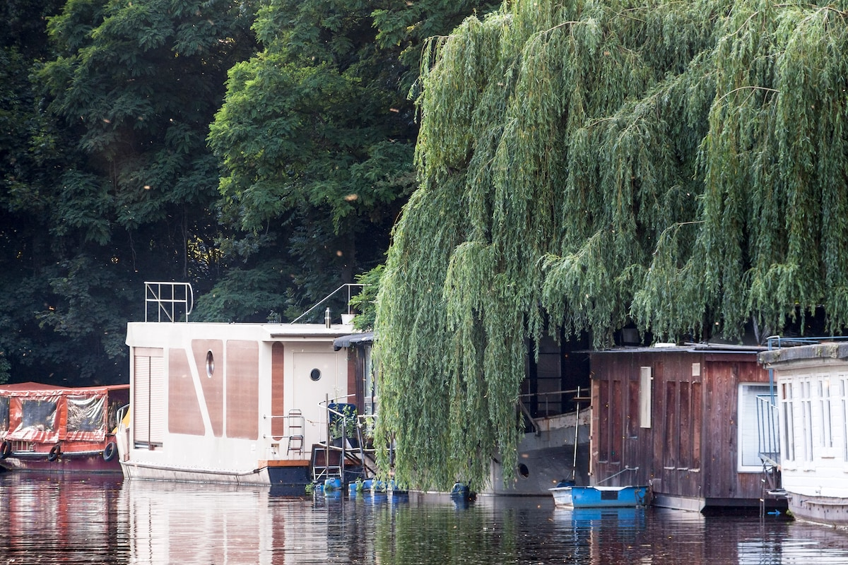 Houseboat Holiday in West Berlin