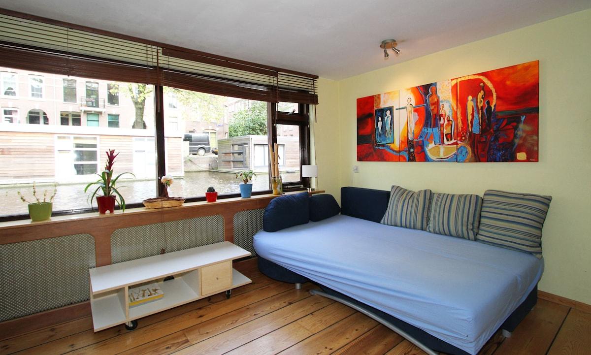 Sleeping sofa (when ready to sleep) - Divano letto pronto all'uso