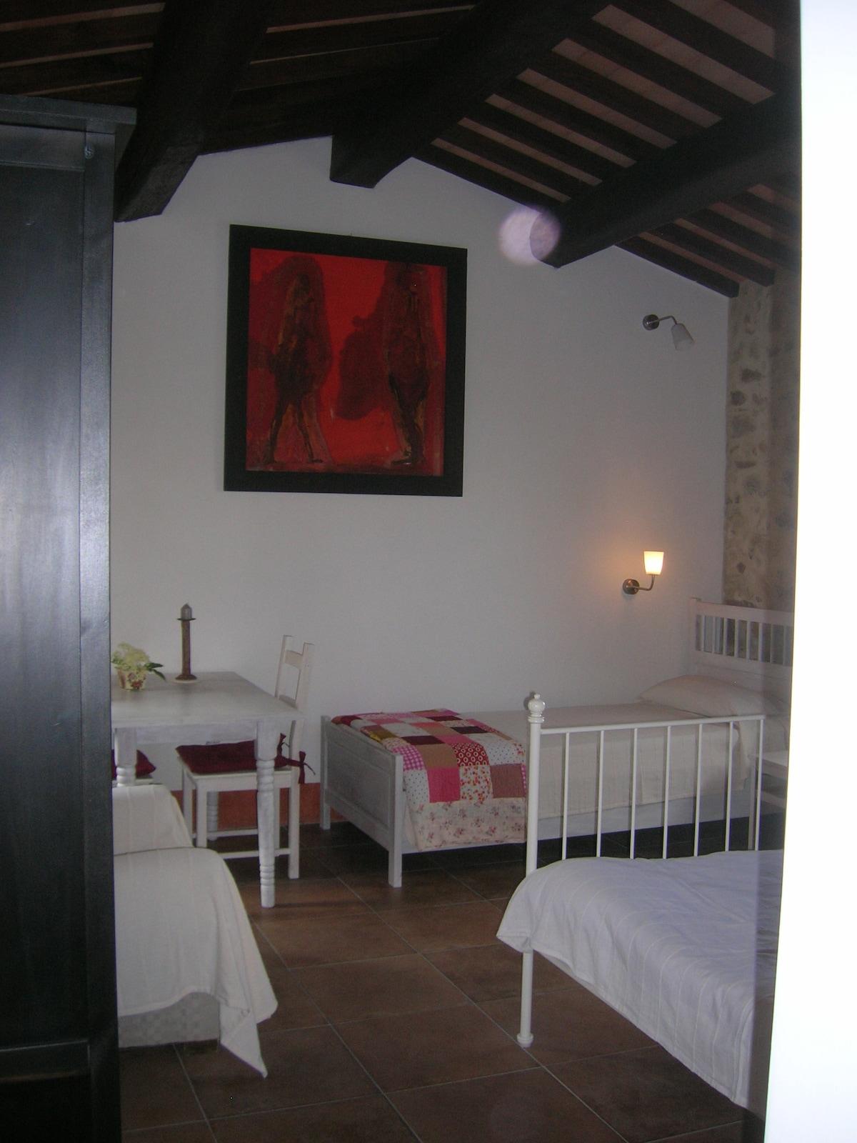 b&b between Gubbio/ Assisi Umbria