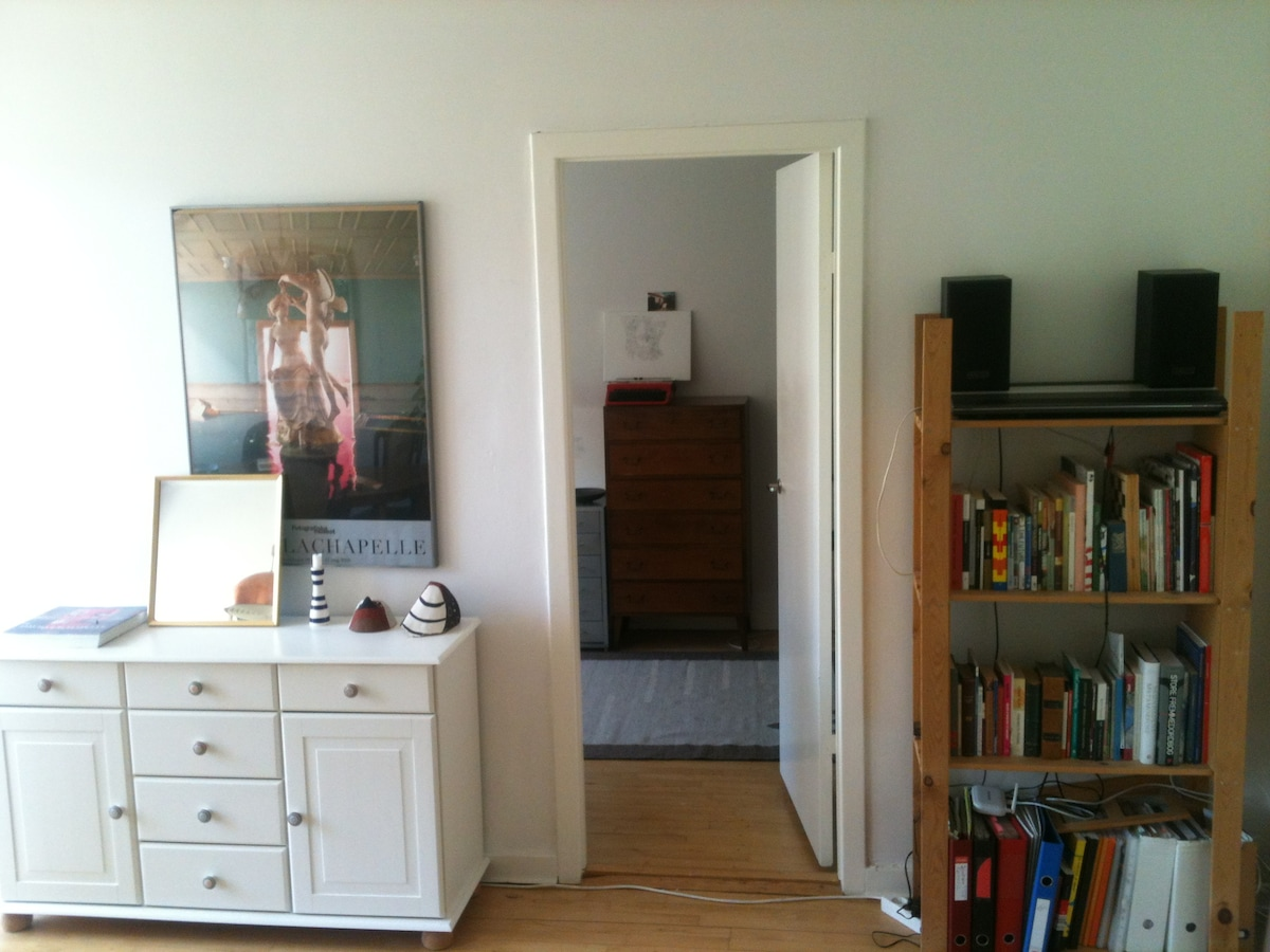 doorway to the bedroom