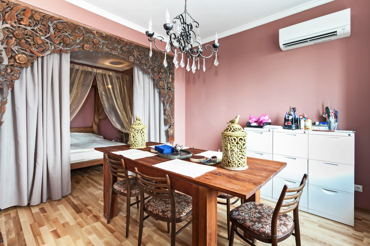 Bright appartment near Moscow City