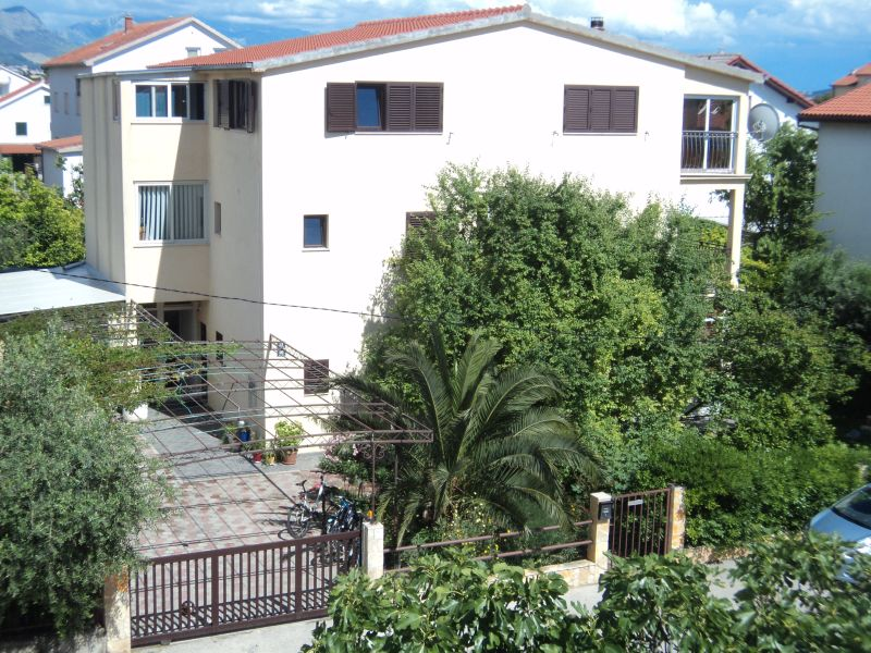 The apartment is located on the first floor in a large house surrounded by a lushous garden.
