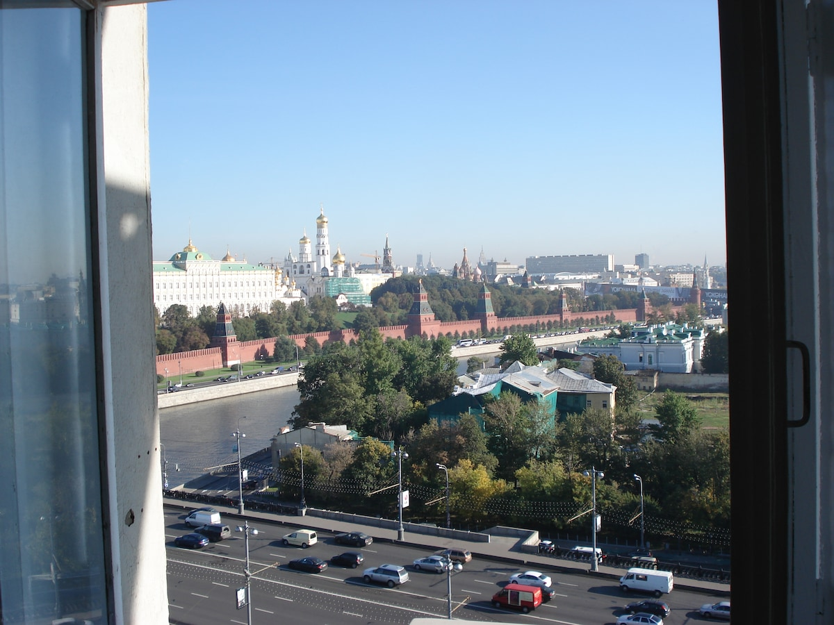 View of Kremlin from Bedroom Window