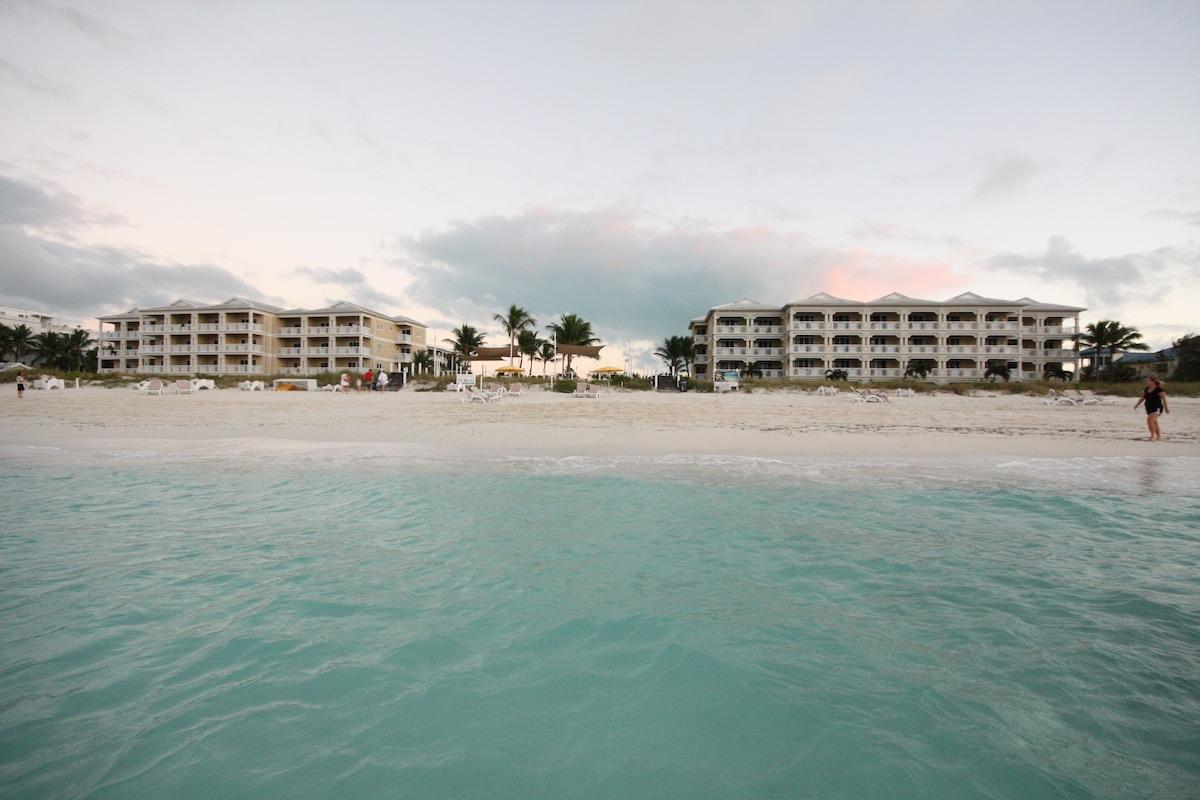 View of Alexandra Resort from ocean