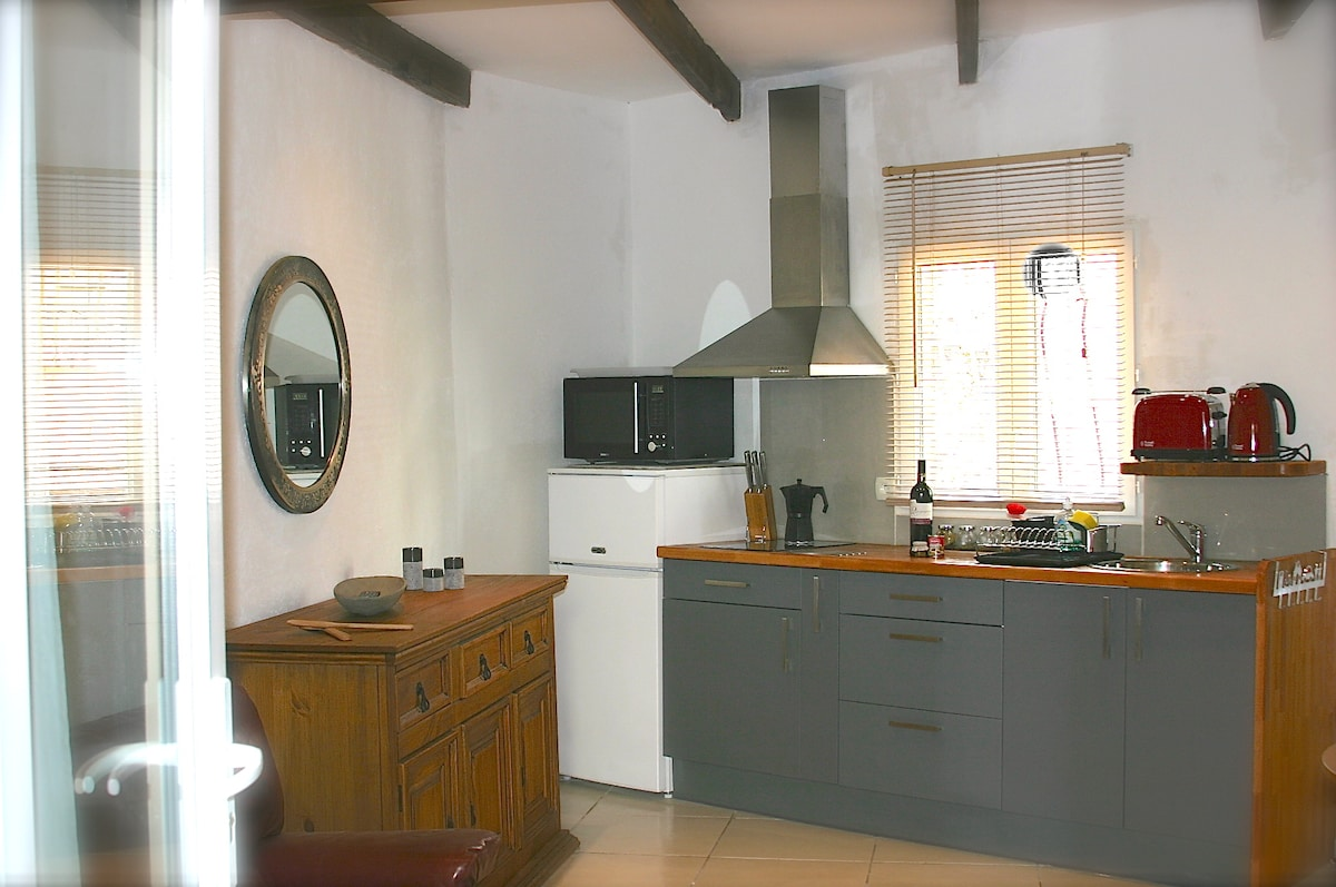 Modern flat with charm