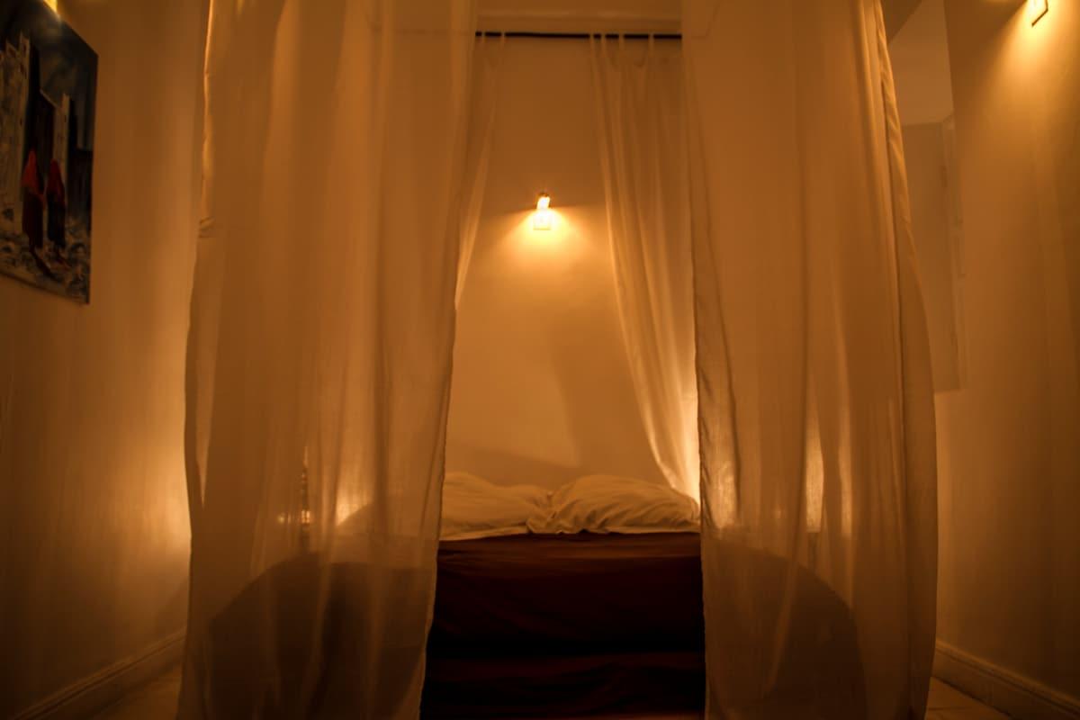 White room - enjoy a cosy evening