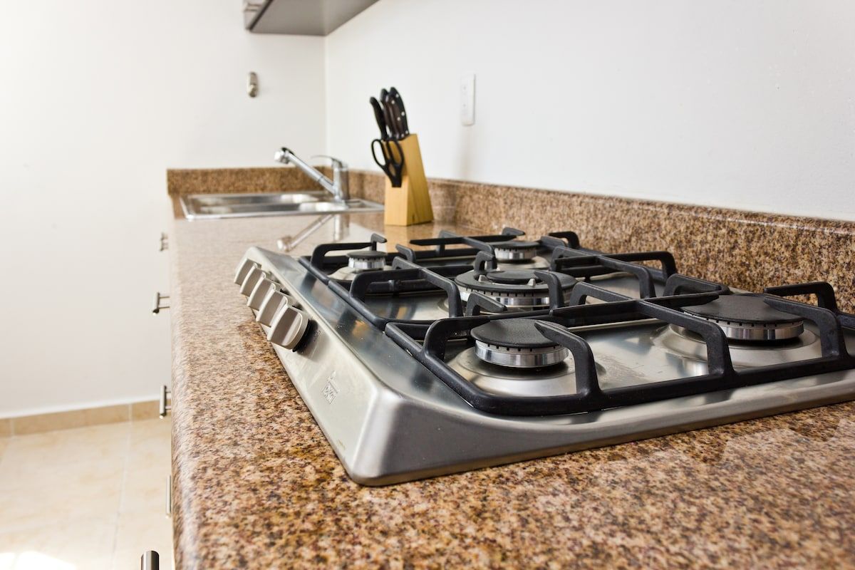 German Teka Stainless Steel Gas Stove with 5 Burners