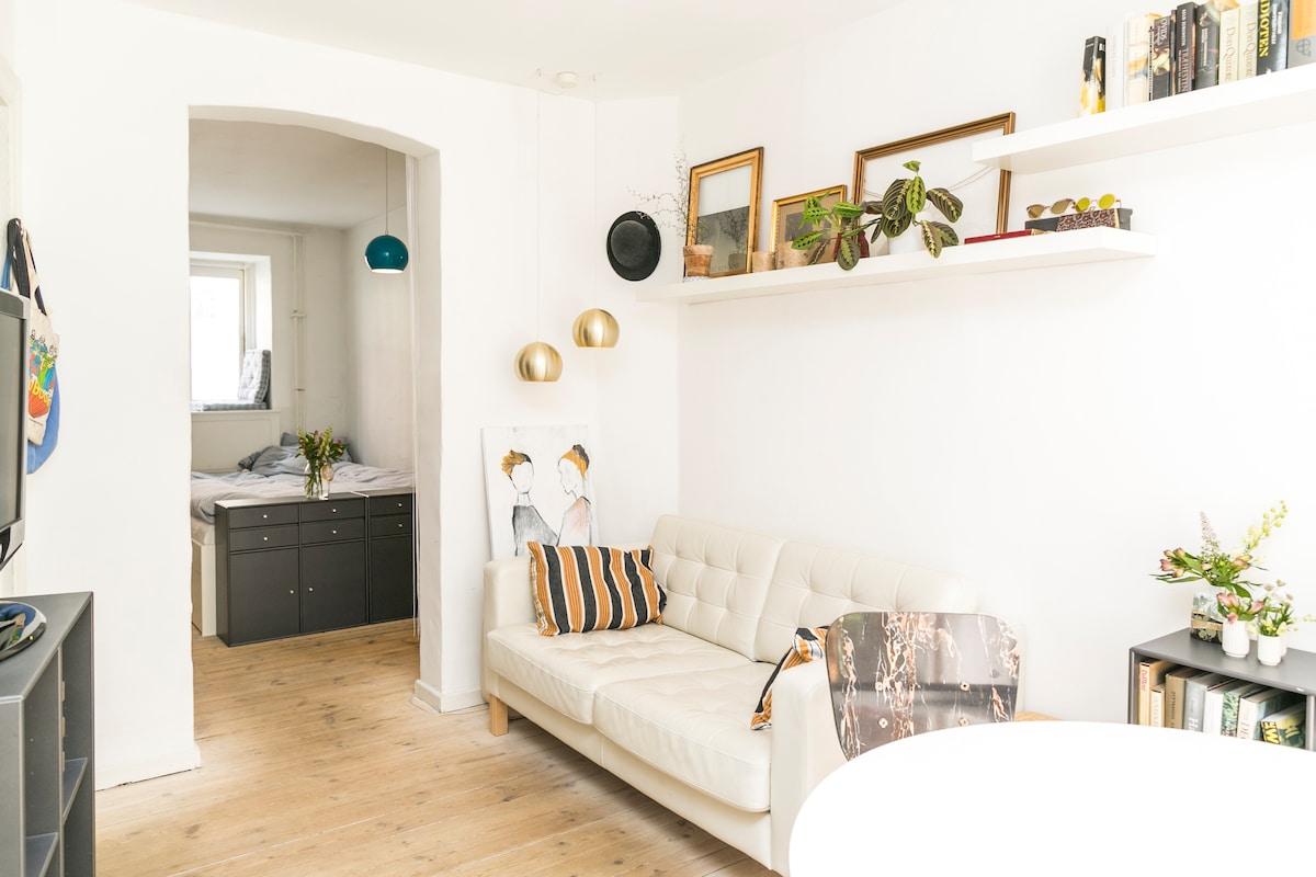 Cosy apartment i hip neighbourhood