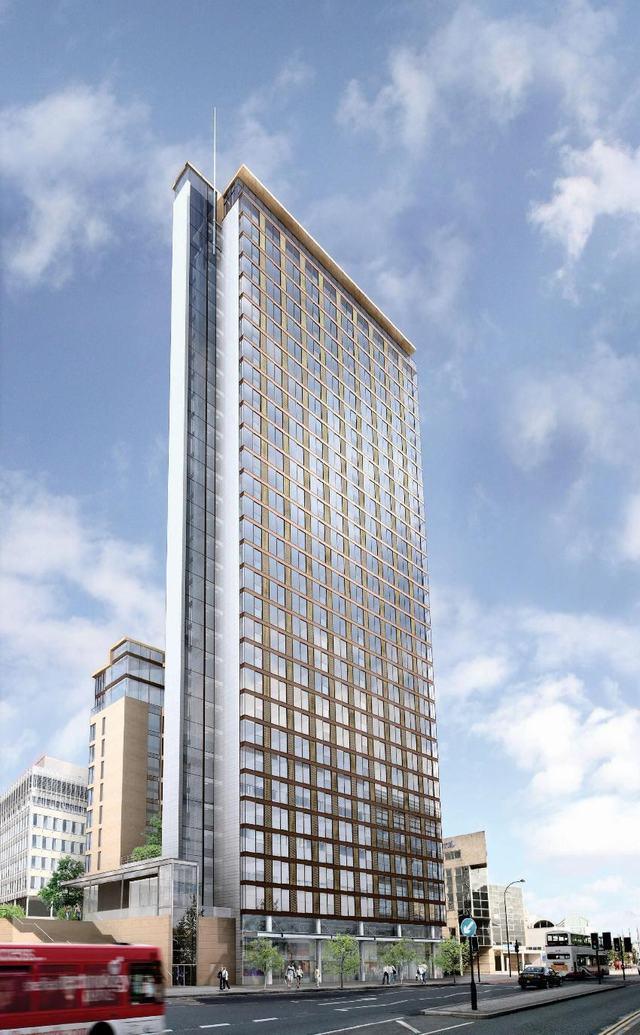 apartment exterior - 17th Floor