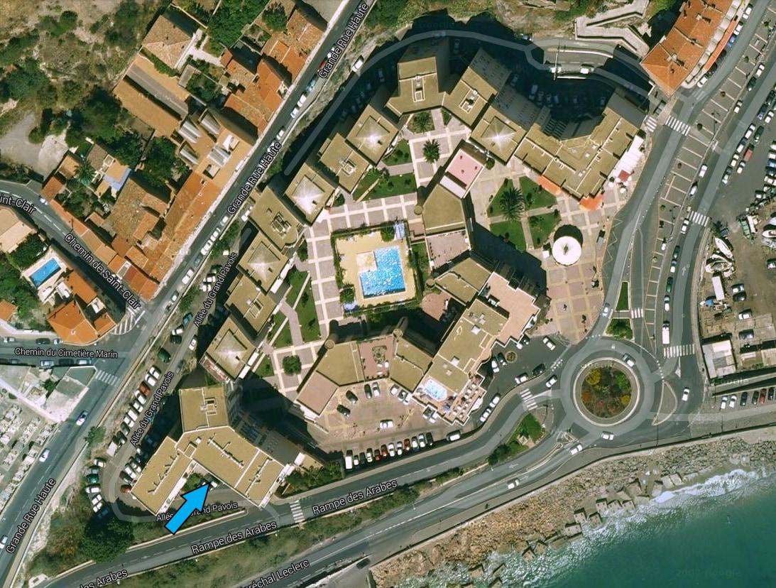 Appartement balnéaire à Sète (34)