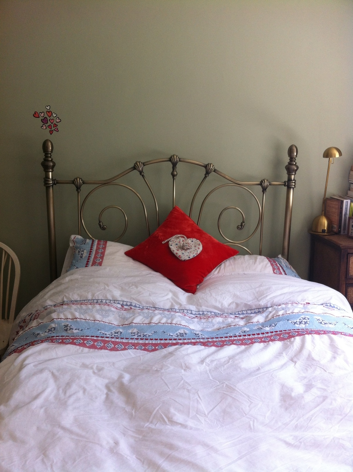 Bedroom. Bed is very comfy