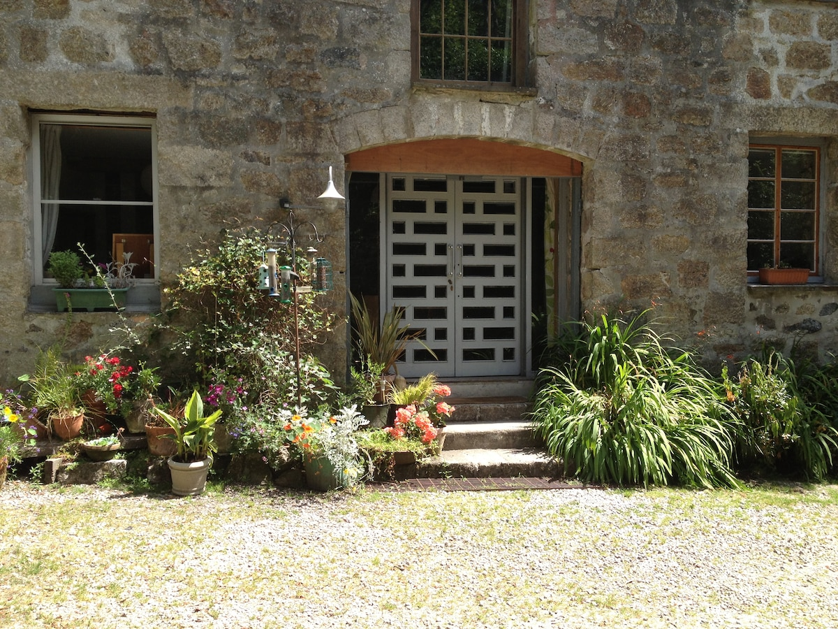 The entrance doors to The Mill