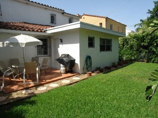 Villa Santa Barbara, Garden