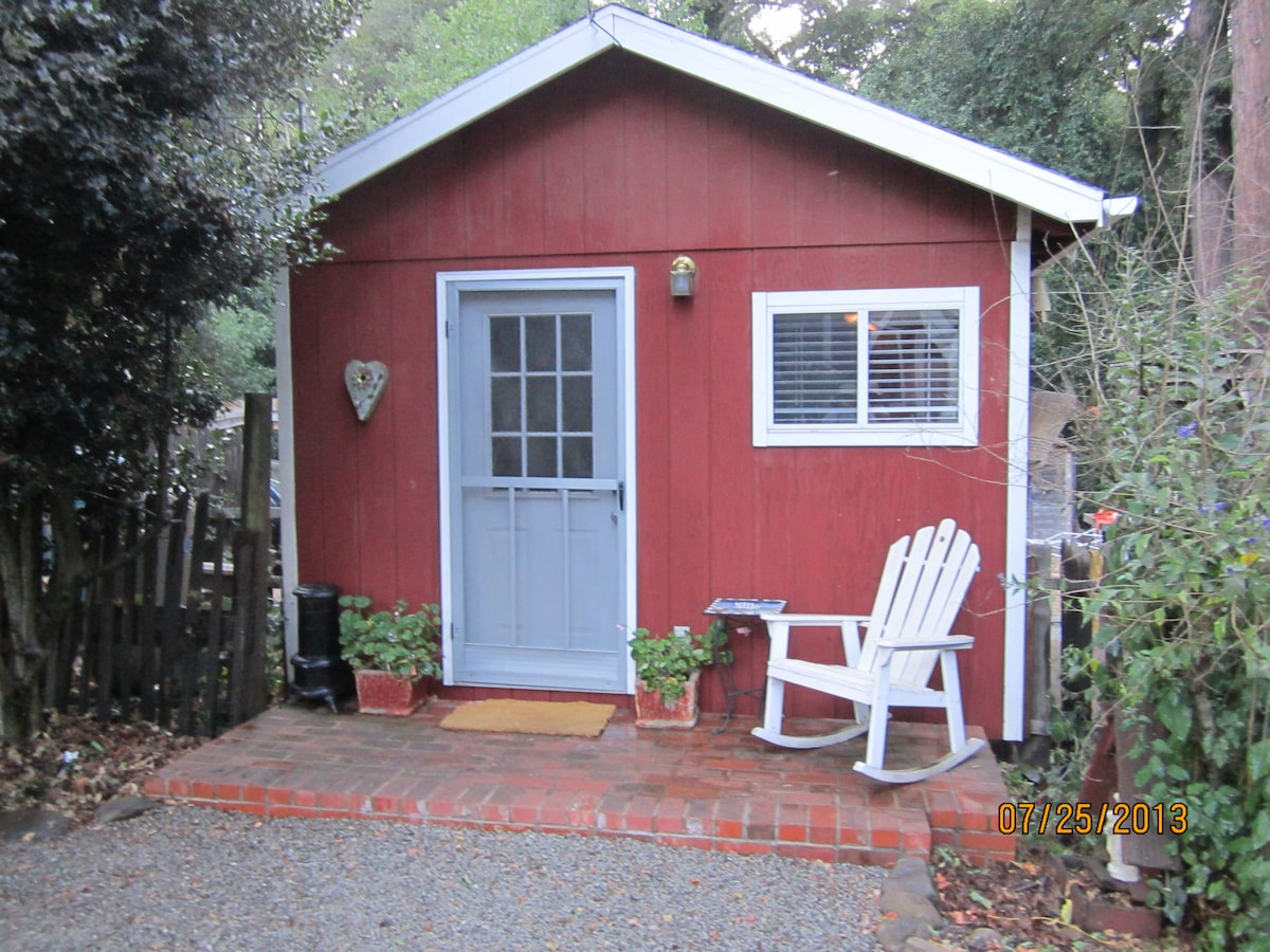 Cute Cabin in Santa Cruz Mountains