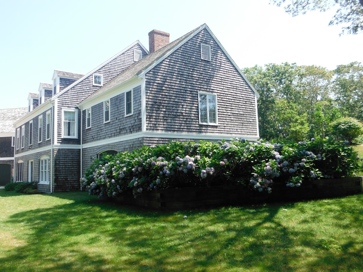 Steps to Beautiful Nantucket Sound!