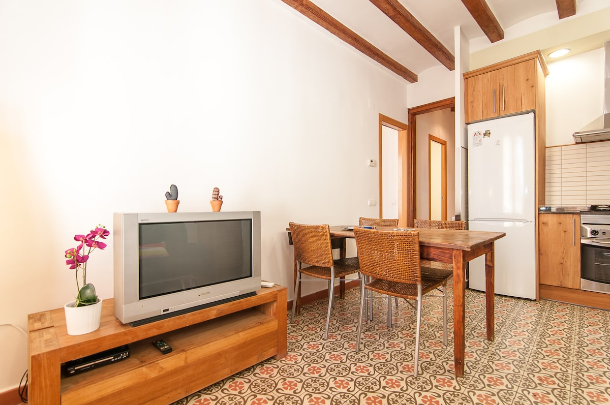Cozy apartment in the heart of Gracia