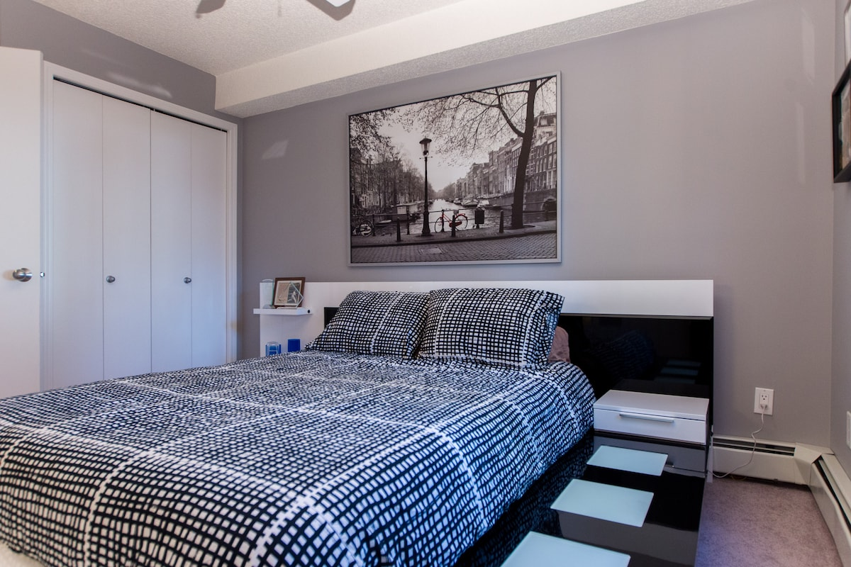 Master Bedroom with Queen Gel Mattress