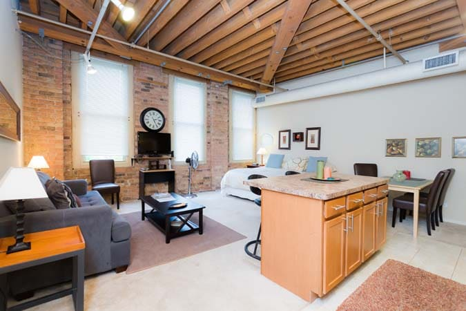 Luxury Loft Studio/Old Town :410