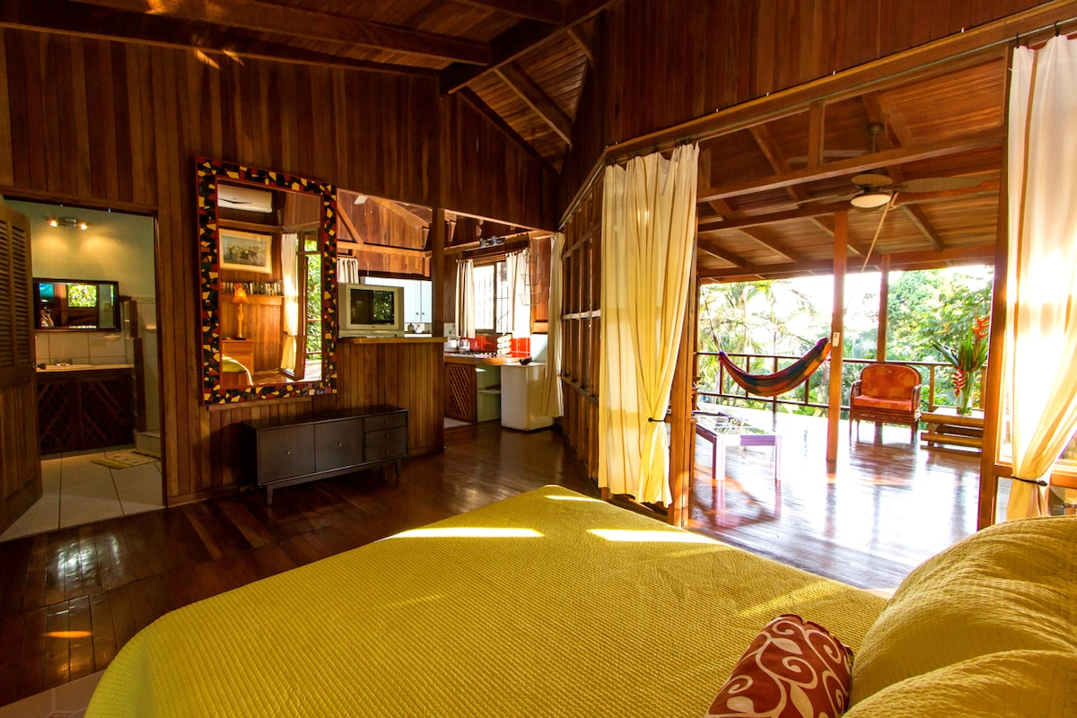 Charming Jungle Studio with Views
