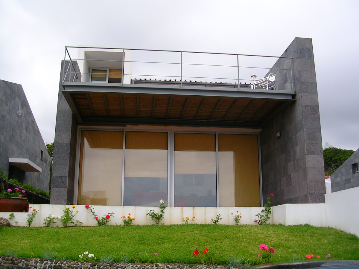 front view of the house