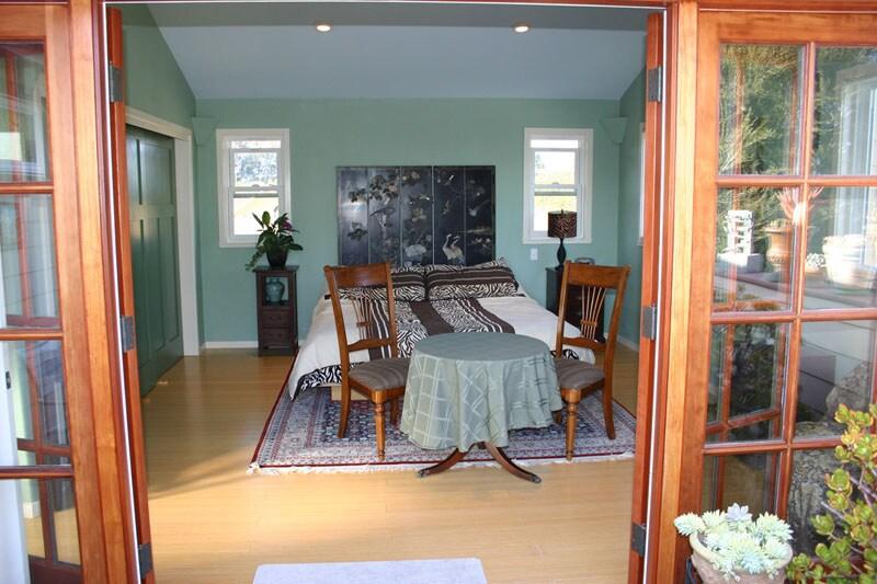 Bedroom from deck