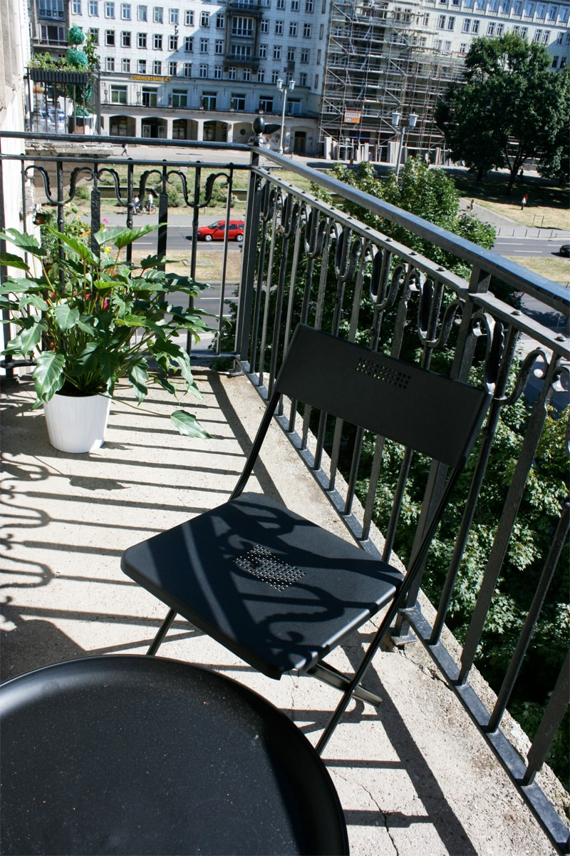 cosy 2 rooms+balcony for 2-4 people
