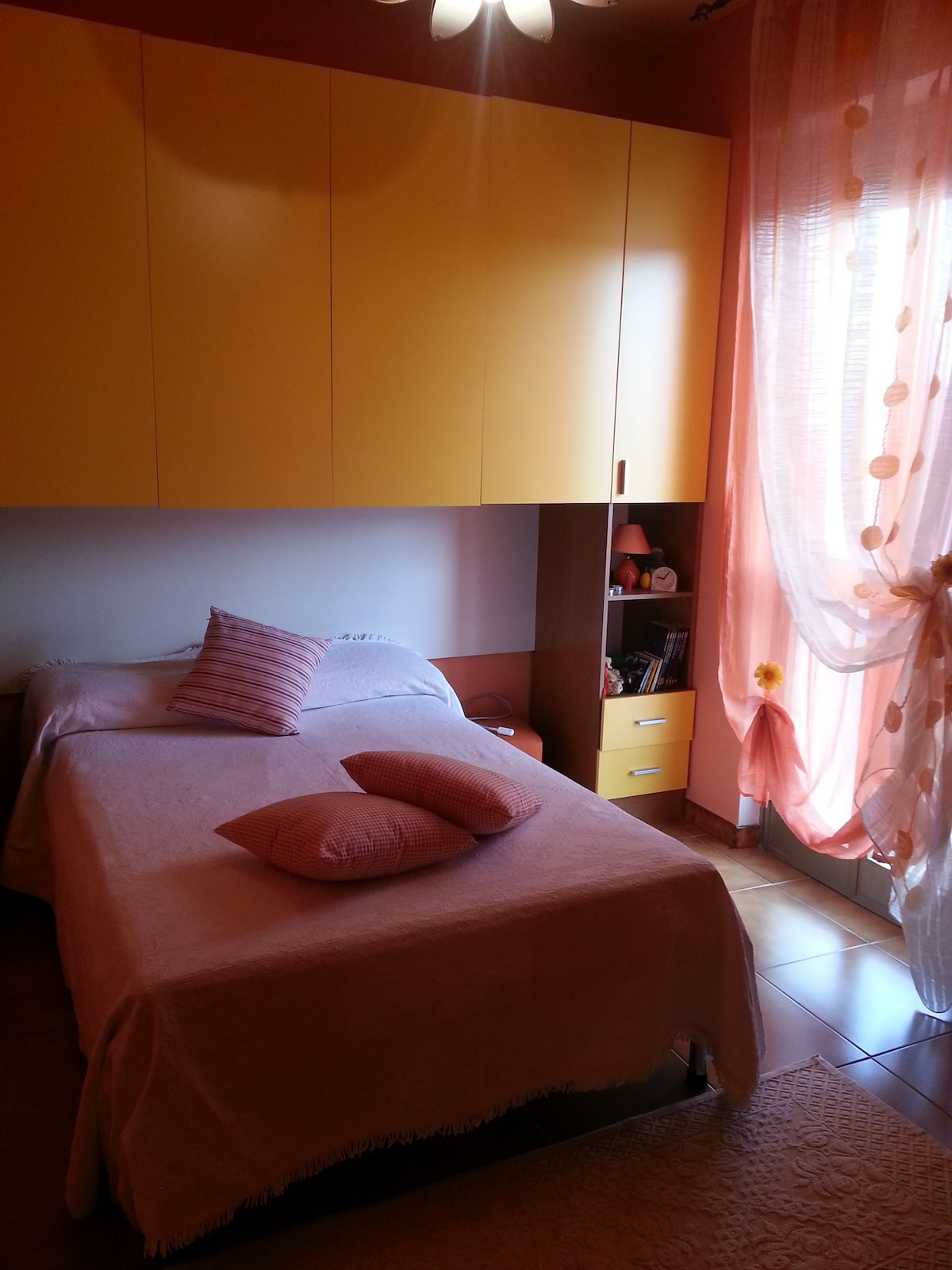 We have two double bedroomsDisponia