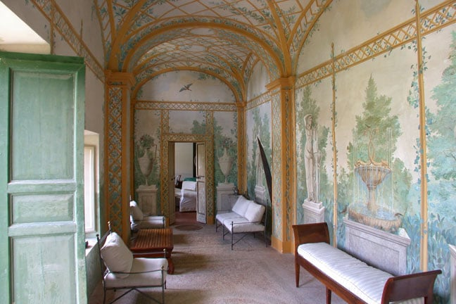 The Villa entrance hall