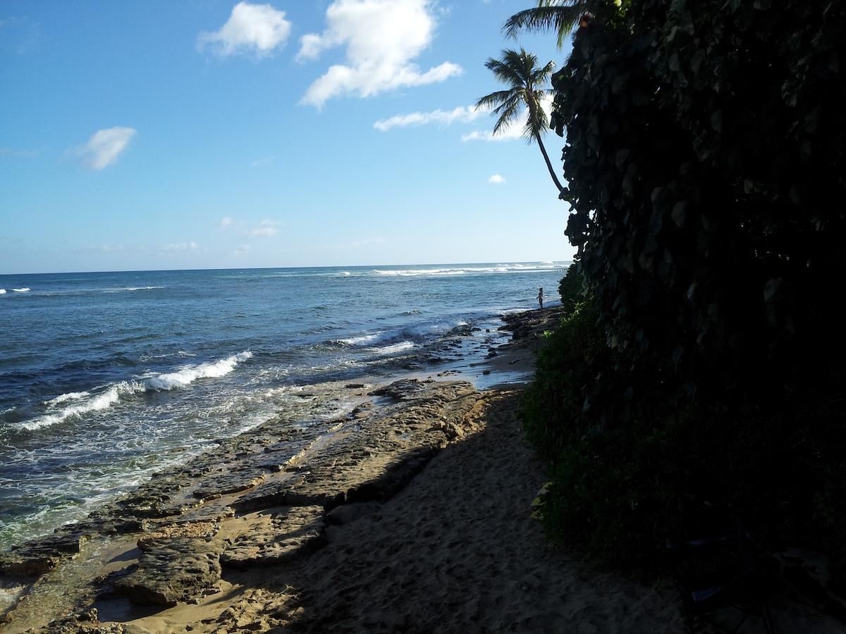 Right view (Diamond Head Beach) from beach access
